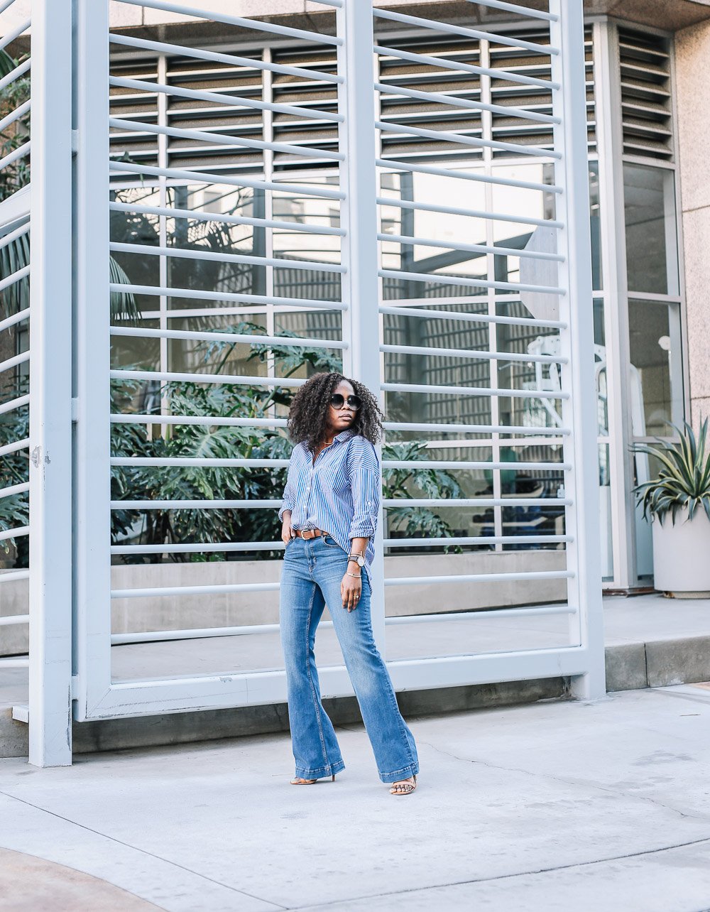 Flared jeans-4