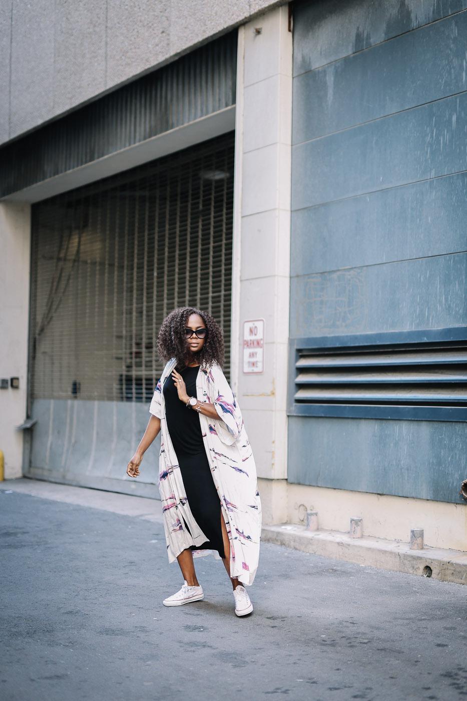 Kimono and converse-14
